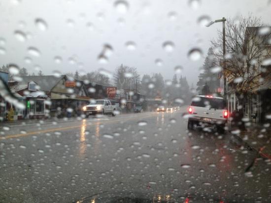 Boulder Creek rain