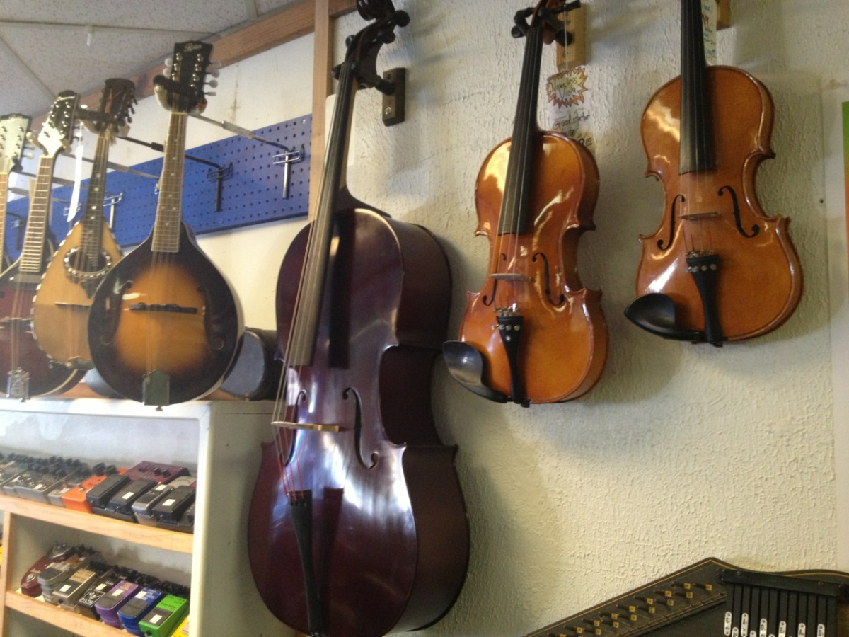 violins and mandolins