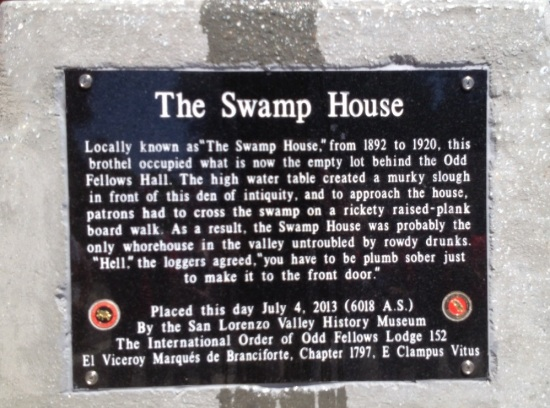 Clampers The Swamp House