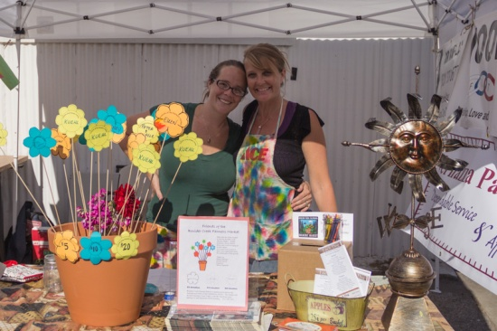 Organizers of Boulder Creek's 1st Farmers Market