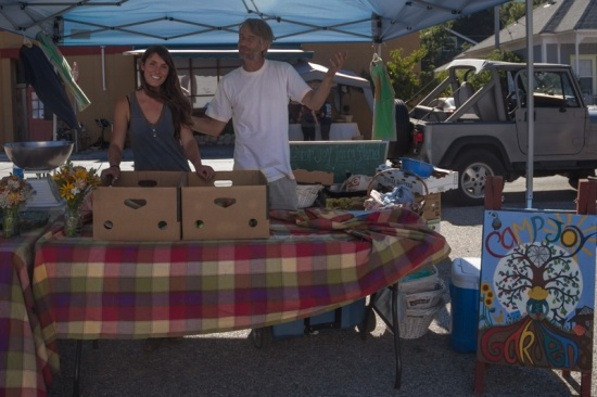 Camp Joy Gardens at Boulder Creek's 1st Farmers Market