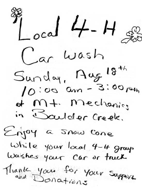 4-H-Carwash-Boulder-Creek