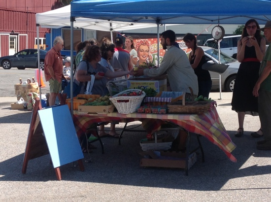 FarmersMarket in Boulder Creek