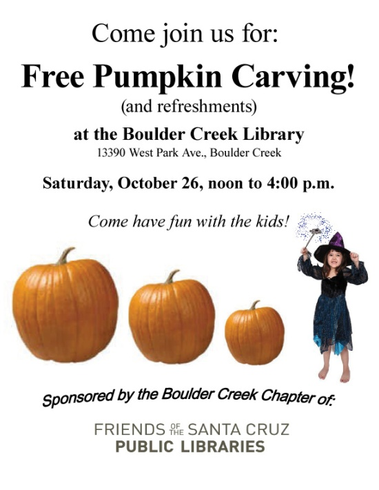 Boulder Creek Pumpkin-Carving