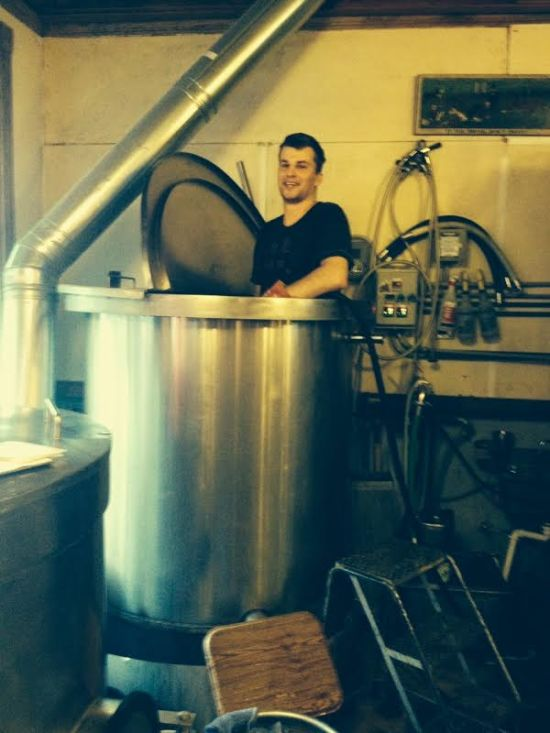 Brewer in the kettle