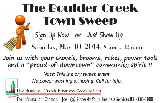 2014-05-10 Town Sweep