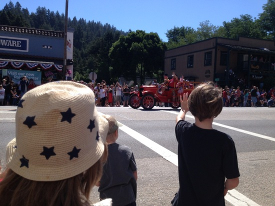 boulder creek parade