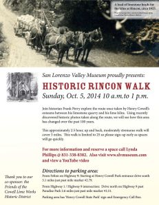2014-10-05 SLV Historical Rincon Walk