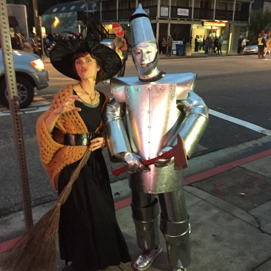 tin man and witch