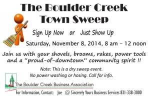 2014-11-08 Town Sweep