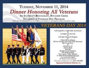 2014-11-11 Veterans Dinner