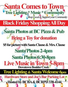 2014-11-27 Santa & Tree Lighting