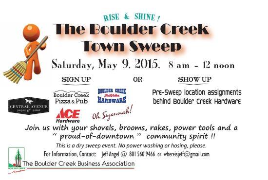 Boulder Creek Town sweep