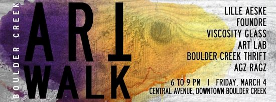Boulder Creek Art Walk Friday