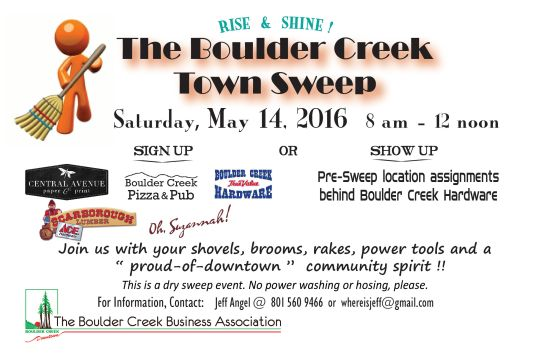 boulder creek town sweep
